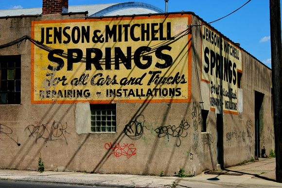 Jenson & Mitchell Springs corner 21st Ave & Straight St (demolished)